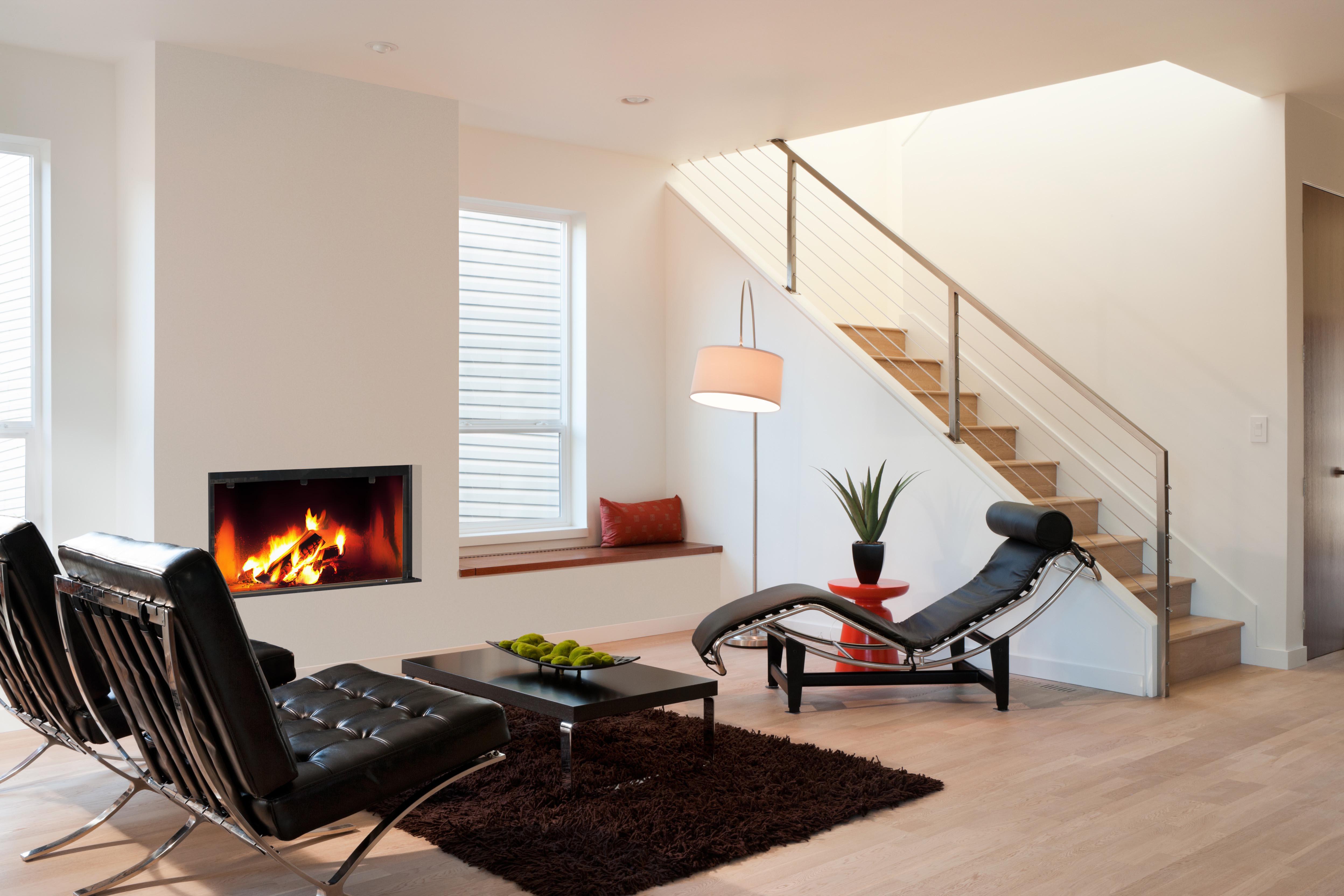 Foyer bois encastrable stella foyer tanche acier fondis for Poele a bois rectangulaire design