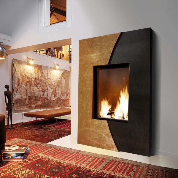 Chemin e marbre naturel habillage chemin e marbre fondis - Habillage insert cheminee ...
